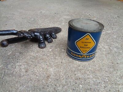 """Vintage """"goodyear All Weather Top Dressing""""  """"unopened"""" Can"""
