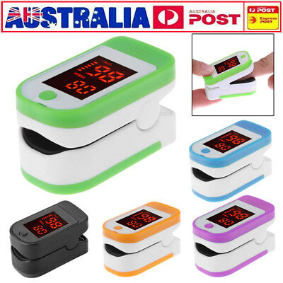 Finger Pulse Oximeter Blood Oxygen SpO2 Saturation Heart Rate Monitor OLED