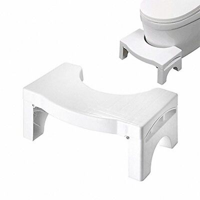 Foldable Bathroom Toilet Aid Step Foot Stool for Potty help Prevent Constipation