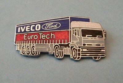 Iveco Ford Eurotech Trucks Enamel Pin Badge