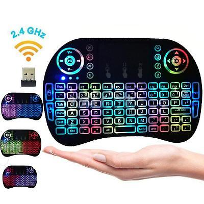 Mini Wireless Keyboard Fly Air Mouse Touchpad For Android Smart TV Box Projector