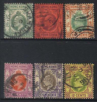 Hong Kong 1904-1911 Mcca 6 Used Values Cat £29+