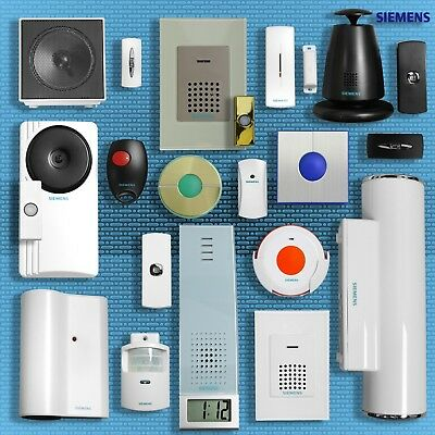 Siemens Wireless Wirefree Cordless Portable Door Bell Chimes & Accessories