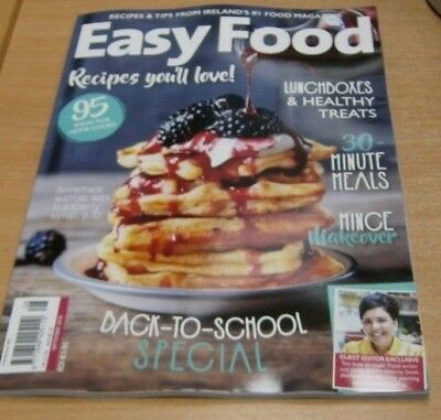 Easy Food magazine SEP 2018 New Ways with Mince, Lunchbox Ideas, No-Bake Dessert