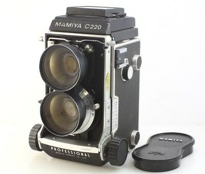 Mamiya C220 PRO 120 6x6 TLR camera w/ 65mm f3.5 wide angle, new seals, working.