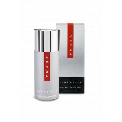 Prada Luna Rossa For Men 150Ml Deodorant Spray Brand New & Sealed