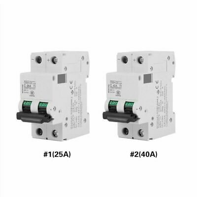 2P Low-voltage DC 250V  Miniature Circuit Breaker for Solar Panels Grid System
