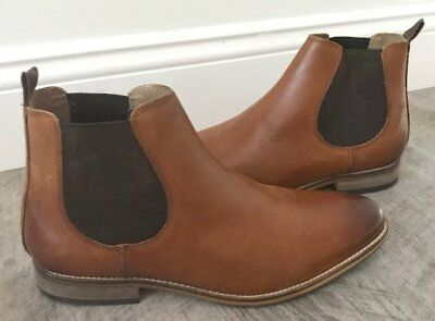 asos chelsea boots us mens size 8 light brown suede brand new in box