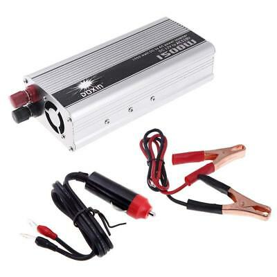 KKmoon 1500W WATT Power Inverter DC 12V to 110V AC Converter Car Power Charger C
