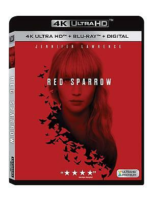Red Sparrow (4k Ultra HD Blu-ray Disc ONLY, 2018)
