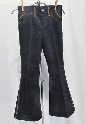 Vintage Wrangler Pants Jeans Corduroy Bell Bottoms Dead Stock sz 10 Girls