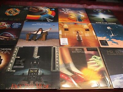 Electric Light Orchestra Elo Limited Edition 12 Titles 18 Lp Vinyl Set 180 Gram