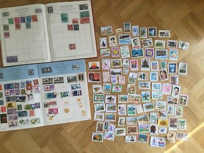 Job Lot of Vintage Postage Stamps (approx. 370), Used and Unused