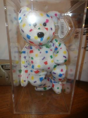 Beanie Baby Ty 2 K  Retired With Original Tags, In Acrylic Box