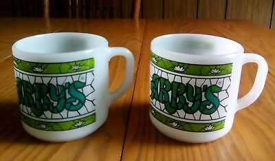 2 Vintage Arby's Mugs Cups - Federal
