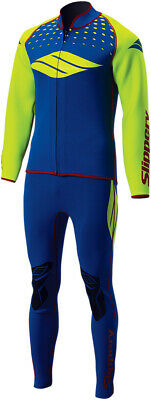 Slippery S17 Breaker Wetsuit & Jacket Blue/Green Adult All Sizes