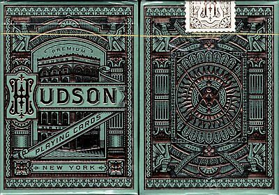 Hudson Playing Cards Poker Size Deck USPCC theory11 Custom Limited New Sealed