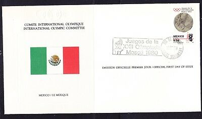 Mexico 1980 Olympic Games Souvenir Cover