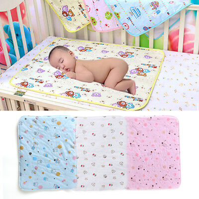 Cotton Portable   Baby Diaper  Waterproof Diapers Cushion Cover Bedding