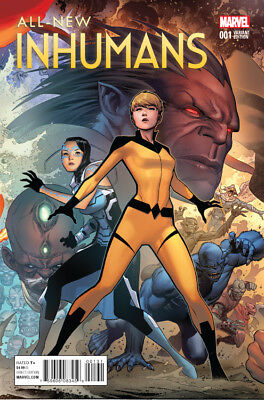 ALL NEW INHUMANS #1, CHEUNG CONNECTING D VARIANT, New, Marvel (2015)
