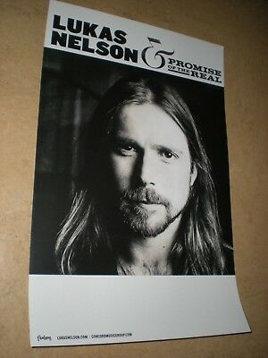 POSTER by LUKAS NELSON promise of the real For the bands tour album cd *