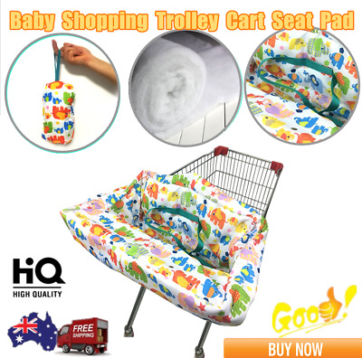 Baby Shopping Trolley Cart Seat Pad Kid Child High Chair Cover Protective Mat MS