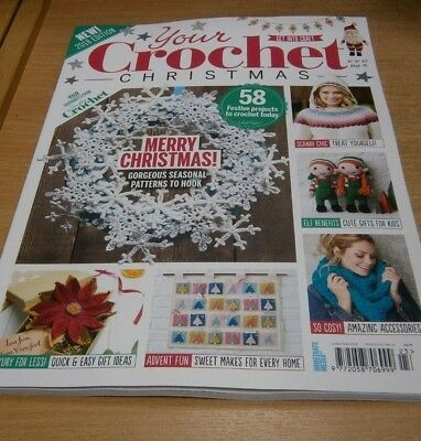 Get Into Craft magazine Your Crochet Christmas 2018 Edition from Simply Crochet