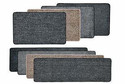 Vinsani Magic Clean Step Mat Non-Slip Machine Washable Door mat Carpet Rug Liner