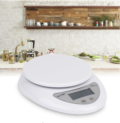 5KG/1g Portable Electronic Digital Scale Weight Balance Kitchen/Food/Laboratory
