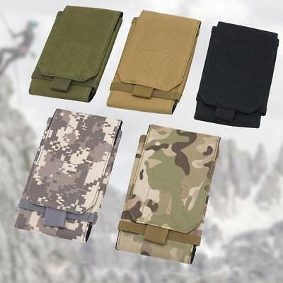 Universal Outdoor Army Tactical Pouch Holster Mobile Phone Ca Bag Holder_Belt