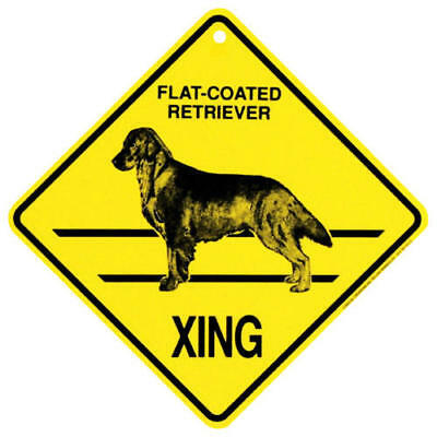 2018 Flat Coated Retriever Xing Sign,  by