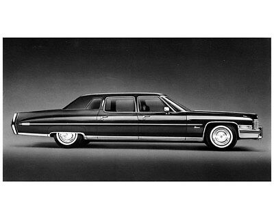 1973 Cadillac Fleetwood 75 Limo Factory Photo cb1337