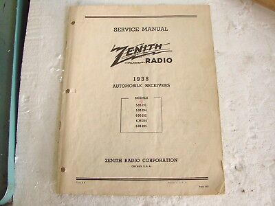 1938 Zenith Tube Radio Automobile Receiver Service Manual 6m295. 1938 Zenith Tube Radio Automobile Receiver Service Manual 6m295 293 292 5m. Wiring. Zenith Tube Radio Schematics 1938 At Scoala.co