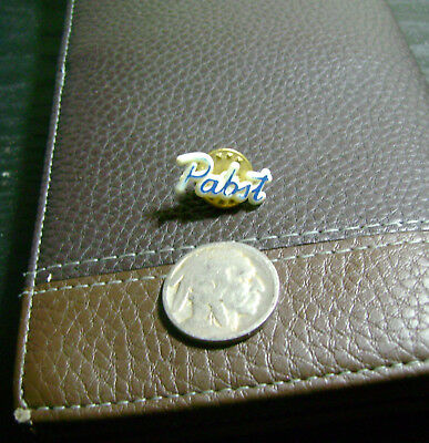 Vintage '80's Pabst PBR Lapel Pin Badge Pin Pinback Button Rare HTF