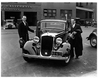 1933 Plymouth Manny & Moe Factory Photo cb1366