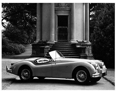 1954 ? Jaguar XK140 Roadster Factory Photo cb1389