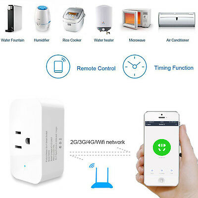 WiFi Plug for Alexa Google Voice Control Energy Monitoring and Timer Function