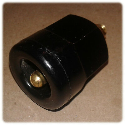 Connector, Power Entry, Receptacle, Panel, Pin, 600VAC, 100A, Supercon®, Black