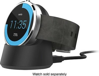 Motorola Moto360 Smartwatch Wireless Qi Charging Dock NIB