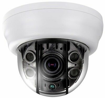 White 2.8-12mm 2.1MP 1080P EX-SDI//HD-SDI Eyeball Infrared Dome IR Camera