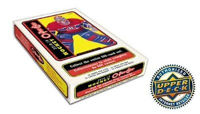 2018/19 Upper Deck Opeechee Hockey Hobby Box New Sealed