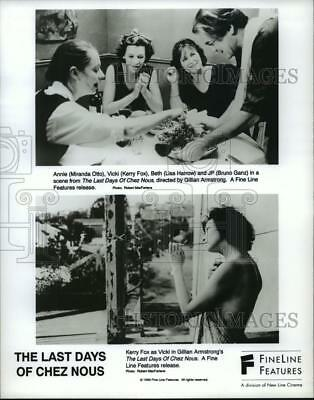 """1993 Press Photo Scenes from """"The Last Days Of Chez Nous"""" - spp41154"""