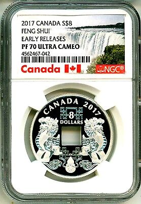 2017 Canada S$8 Feng Shui Good Luck Charms NGC PF70 Ultra Cameo
