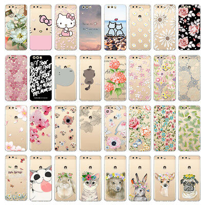 Soft Phone Case For Huawei P 10 9 LITE P9 P10 Mate9 TPU Cover Slim Design