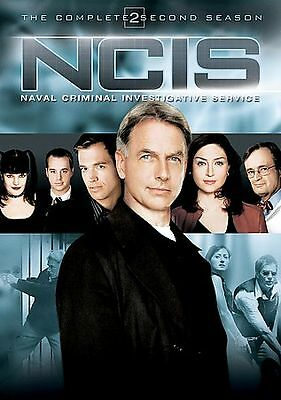 NCIS - The Complete Second Season (DVD, 2006, Multi-Disc Set) FREE SHIPPING