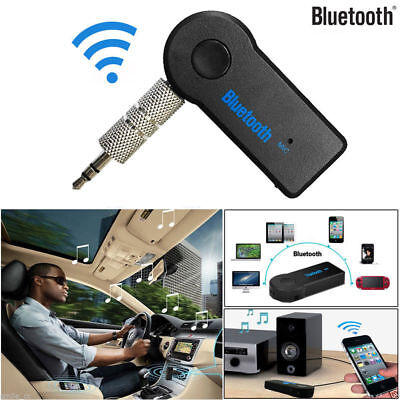 1Pc Wireless Bluetooth 3.5mm AUX Stereo Music Car Audio Receiver Adapter Mic