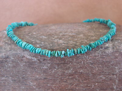 Native Indian Hand Strung Turquoise Bead Bracelet by Yazzie
