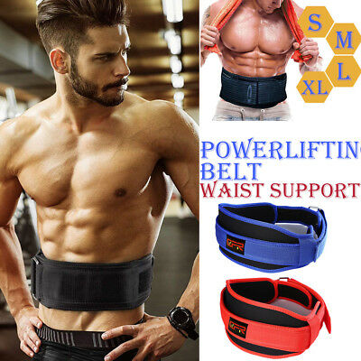 Neoprene Weight Lifting Belt Neoprene Gym Fitness Workout Double Support Brace