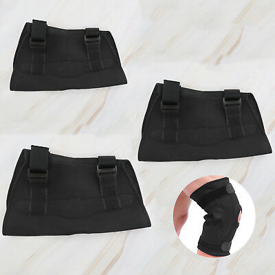 W2 Adjustable Open Cap Patella Knee Support Pad Strap Brace with Metal Hinged