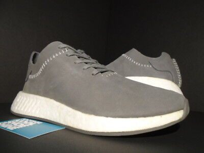 b455a6c42019d Adidas Wh Nmd R2 Sales Sample Wings   Horns R1 Ash Grey Off White Bb3117 New